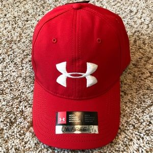 Brand 🆕 Men's Bright Red UA Under Armour Hat